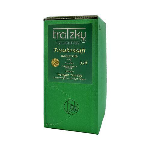 Weingut Tratzky Tratzky  Traubensaft naturtrüb weiß 3,0 L