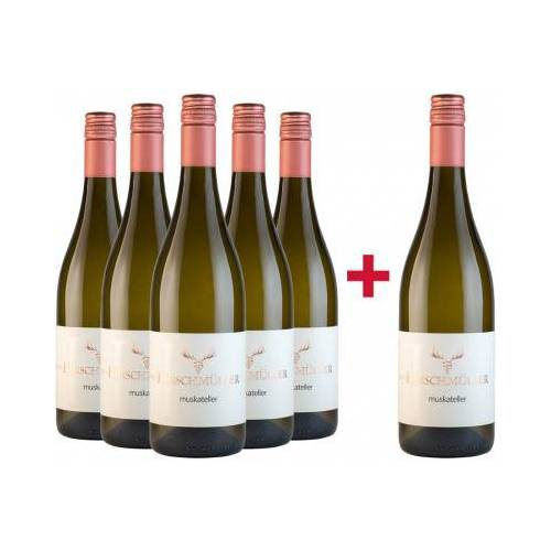 Wein- und Sektgut Hirschmüller Hirschmüller 2019 5+1 Muskateller Paket