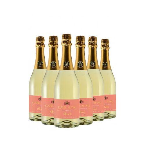 Carl Jung  Peach SEKT Alkoholfrei (6 Flaschen)