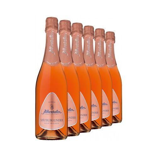 Affentaler Winzer 2018 Affentaler Spätburgunder Rosé Sekt b.A trocken (6 Flaschen)