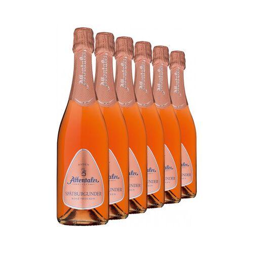 Affentaler Winzer 2019 Affentaler Spätburgunder Rosé Sekt b.A trocken (6 Flaschen)