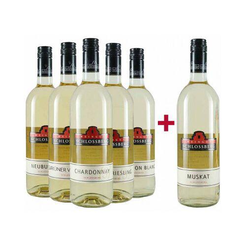 Weingut Schlossberg Schlossberg  5+1 Weißwein Entdeckerpaket