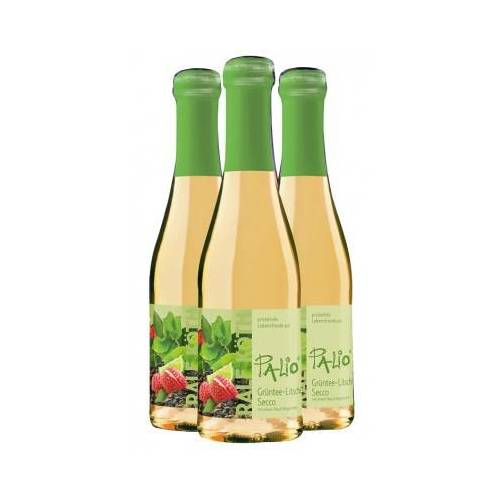 Wein & Secco Köth  3x Palio Grüntee Litschi-Secco 0,2 L