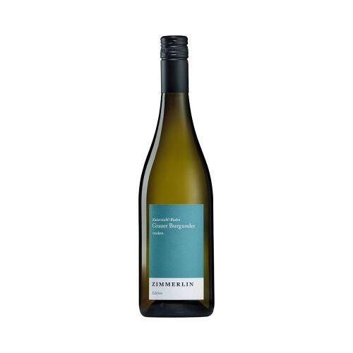 Weingut Zimmerlin Zimmerlin 2019 Grauer Burgunder Edition trocken