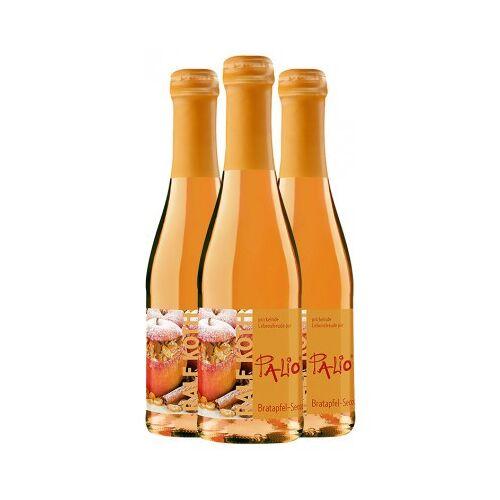 Wein & Secco Köth  3x Palio Bratapfel-Secco 0,2 L