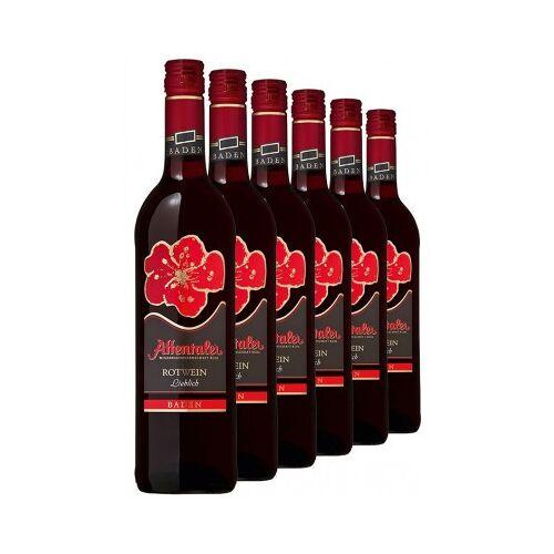 """Affentaler Winzer 2019 """"Blütenedition"""" Rotwein QbA (6 Flaschen)"""