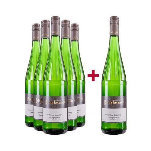 Weingut Bickelmaier Bickelmaier 2019 5+1 Paket Riesling Spätlese Oestricher Doosberg