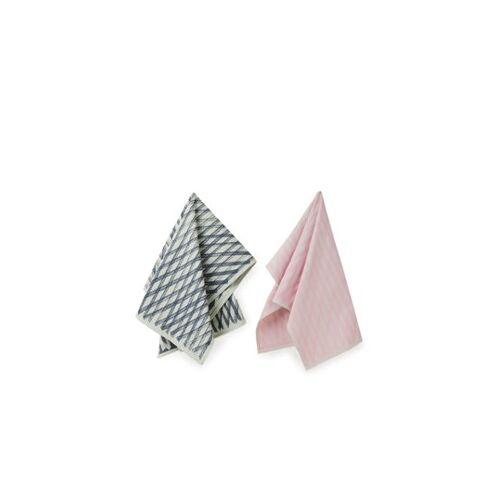 Hay No.4 Marker Diamond Geschirrtuch 2er-Set
