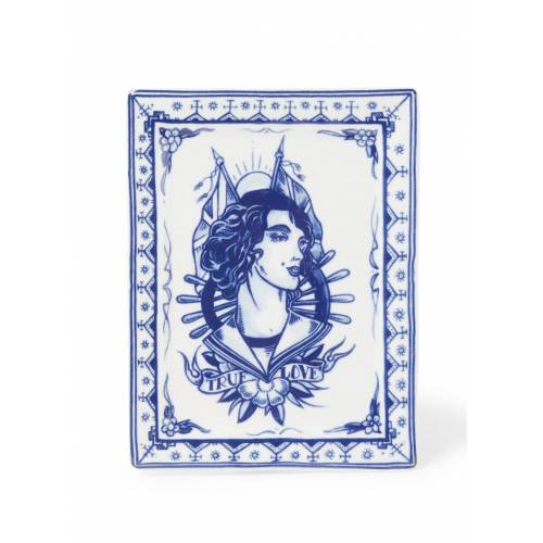 royal delft True Love Kuchenteller 15 x 12 cm