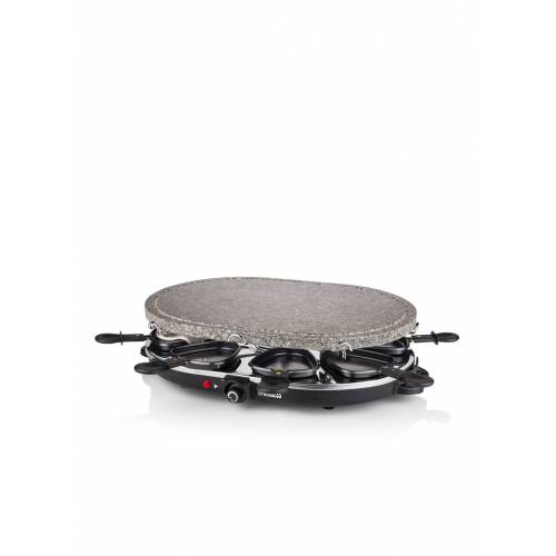 Princess Raclette 8 Oval Stone Grill Party Gourmetset 162720