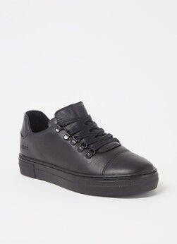 Nubikk Jagger Classic Sneaker aus Nubuk Schwarz 30, 31, 32, 34