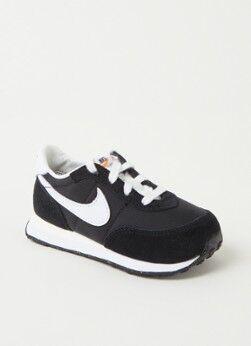 Nike Waffle 2 Sneaker mit Wildlederdetails Schwarz 26