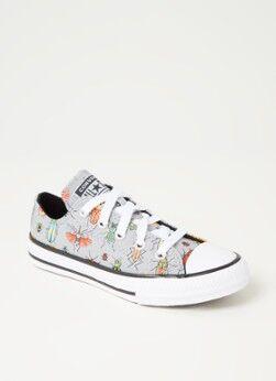 Converse Chuck Taylor All Star Segeltuch Sneaker Grau 33, 34, 35
