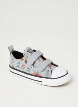 Converse Easy-On Chuck Taylor All Star Segeltuch Sneaker Grau 22, 23