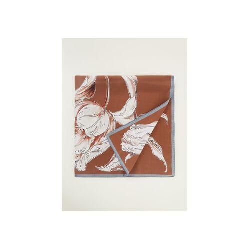 MaxMara Aloesj Schal aus Seide 90 x 90 cm