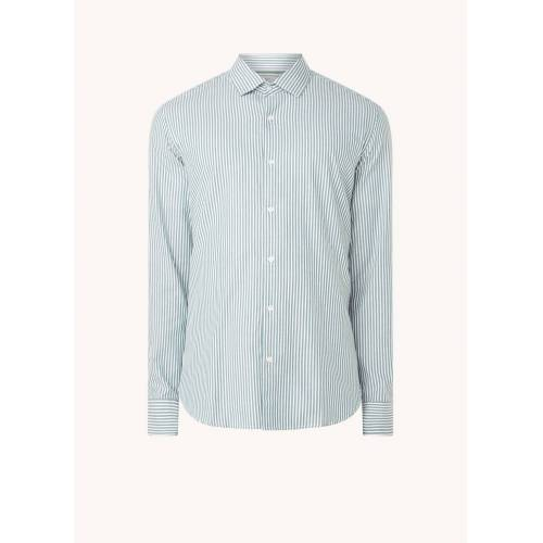 mango Kodaki Slim Fit Shirt mit Streifendruck
