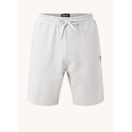 Scott Lyle & Scott French Terry Shorts mit Logo-Stickerei
