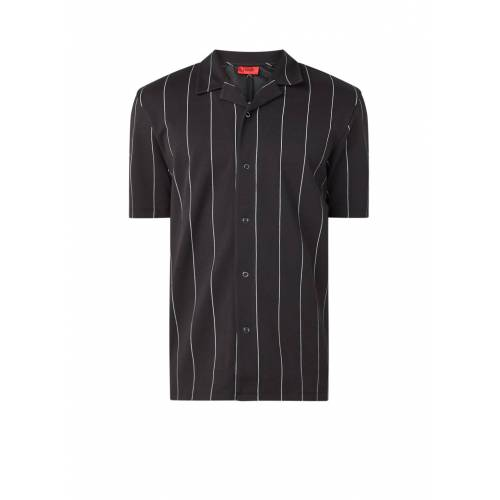 hugo Dackay Regular Fit Shirt mit Streifendruck