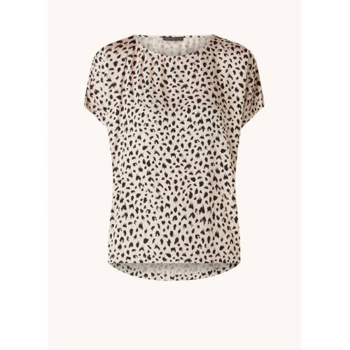 drykorn Somia Top mit Leopardenmuster