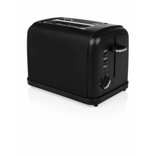 Princess Black Steel Toaster 2 Schlitze 142396
