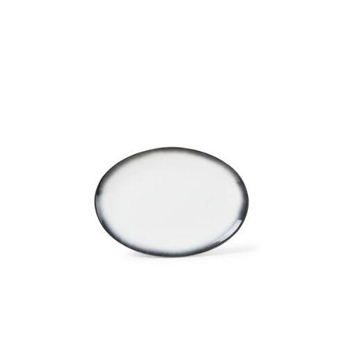 Maxwell & Williams Kaviar Granitplatte oval 35 cm