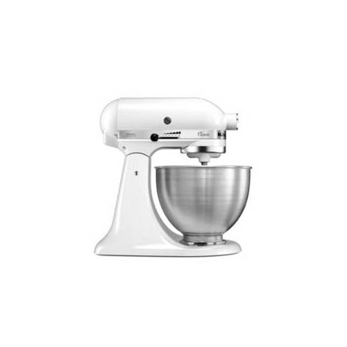 KitchenAid Classic Küchenmaschine 4,3 Liter 5K45SS - Weiß Weiß