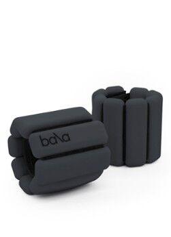 Bala Bangles Trainingsgewichte-Set für Handgelenk und Knöchel, 2er-Set je 0,5 kg Anthrazit