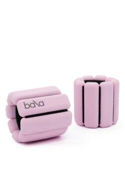 Bala Bangles Trainingsgewichte-Set für Handgelenk und Knöchel, 2er-Set je 0,5 kg Hellrosa