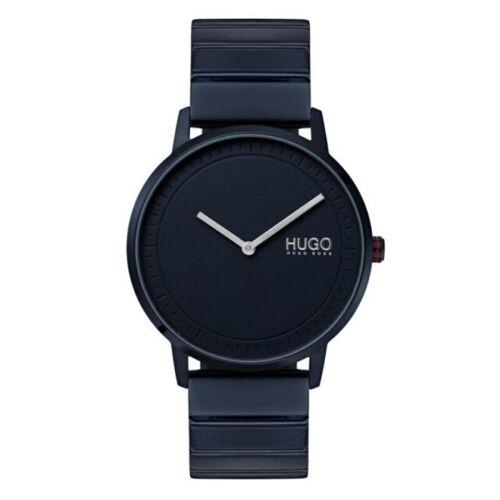 Boss Hugo Boss Uhr Echo Metallarmband Blau 41 mm