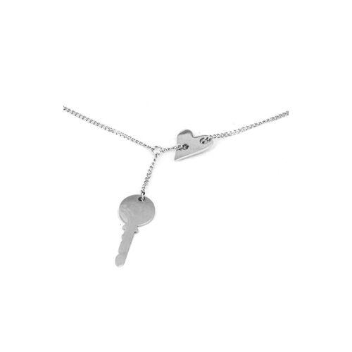 ZAG Bijoux Armband Schlüssel Silber 15+3 cm