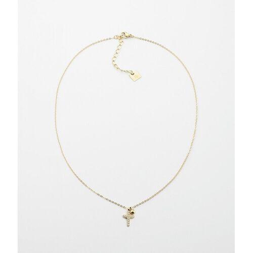 ZAG Bijoux Halskette Kreuz Gold