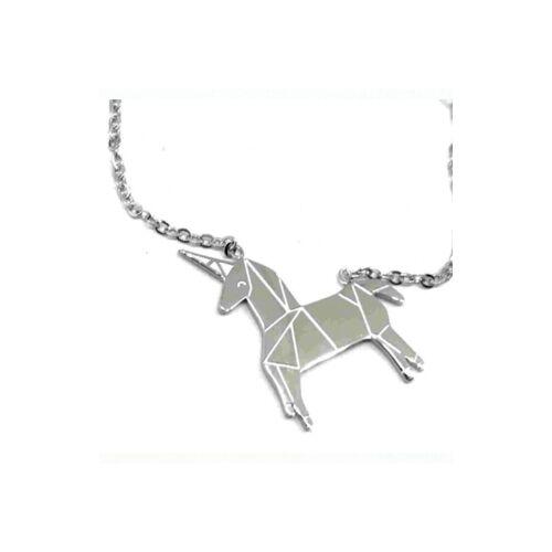 ZAG Bijoux Halskette Einhorn Silber 38+5 cm