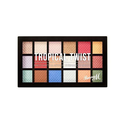 Barry M Eyeshadow Palette Tropical Twist palette mit gebackenen lidschatten 16,2 g für Frauen