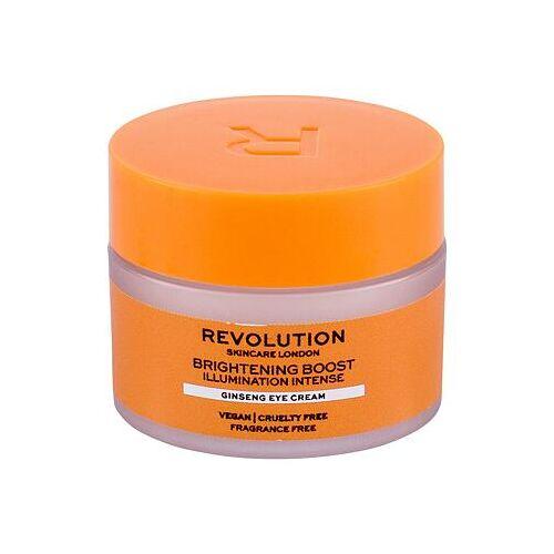 Revolution Skincare Brightening Boost Ginseng augencreme mit ginsengextrakt für strahlenden look 15 ml für Frauen