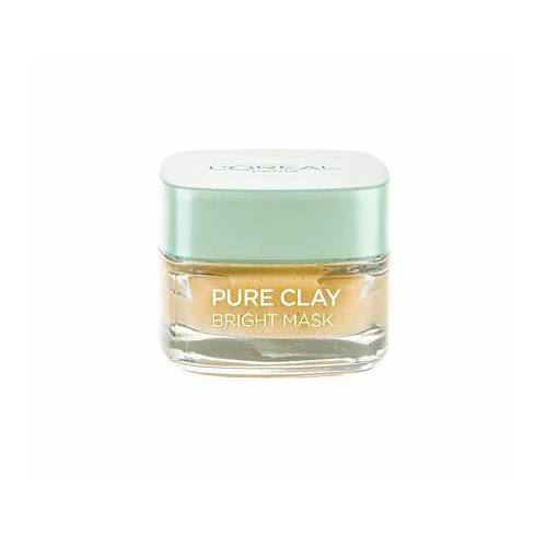 L´Oréal Paris Pure Clay Bright Mask straffende gesichtsmaske 50 ml für Frauen