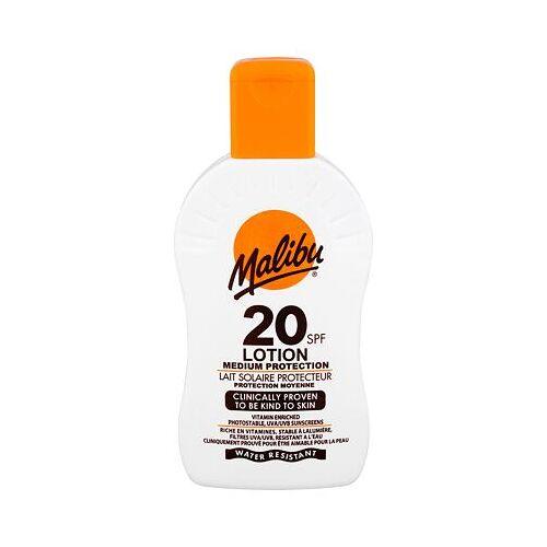 Malibu Lotion wasserfester sonnenschutz SPF20 200 ml Unisex
