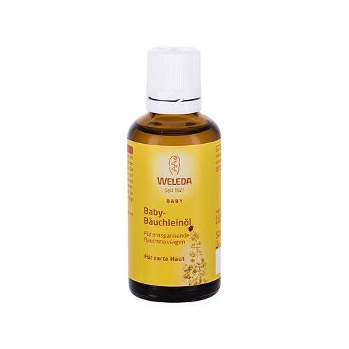 Weleda Baby Tummy Oil massageöl für eine sanfte bauchmassage und verdauungsförderung 50 ml für Kinder
