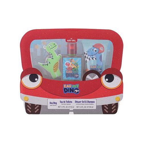 Eau My Dino Eau My Dino Set Edt 50 ml + Duschgel 100 ml + Schlüsselanhänger für Kinder