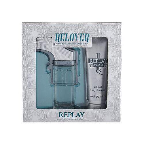 Replay Relover Set Edt 50 ml + Duschgel 100 ml für Männer