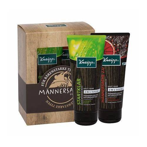 Kneipp Men 2 in 1 Body Wash Set Duschgel 2in1 200 ml + Duschgel 2in1 Men Only 2.0 200 ml für Männer