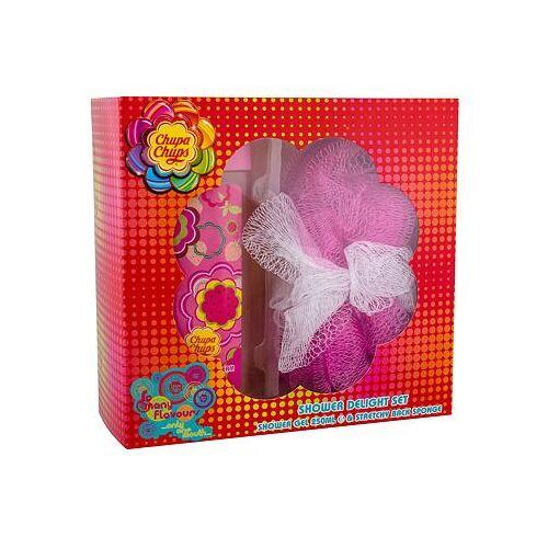 Chupa Chups Strawberry Dream Set Duschgel 250 ml + Schwamm für Kinder