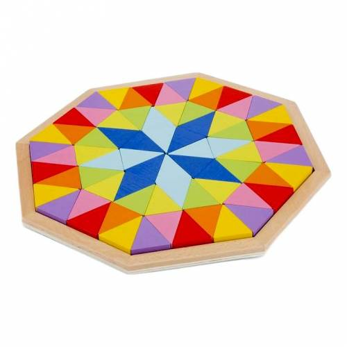 New Classic Toys Achteck Geometrie Puzzle