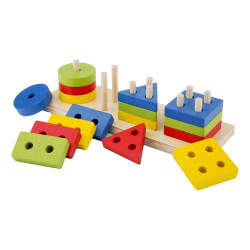 New Classic Toys Geometrische Formen Puzzle