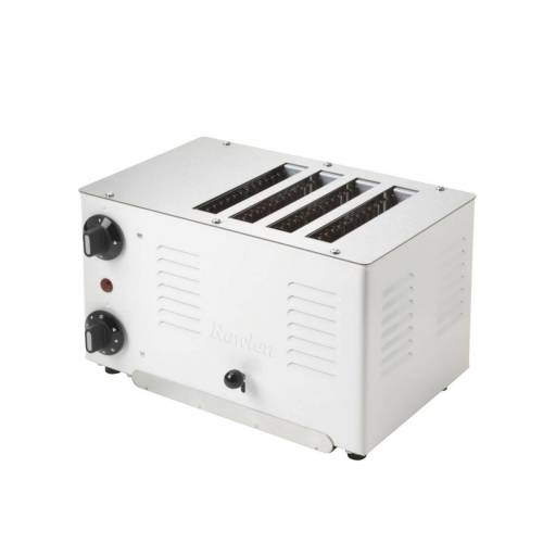 Gastroback Rowlett Toaster Regent weiß (4 slot)
