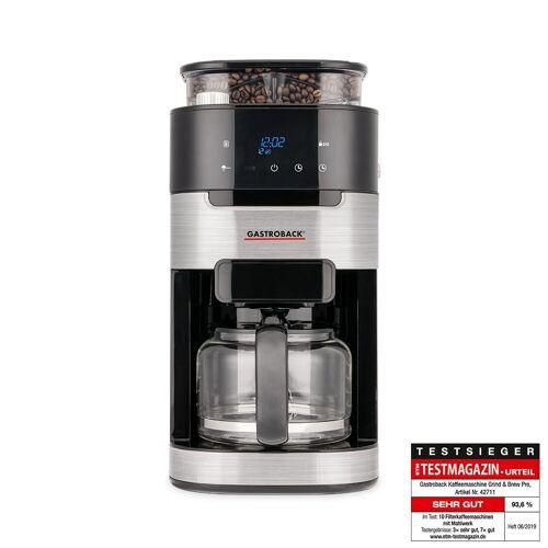 Gastroback Kaffeemaschine Grind & Brew Pro