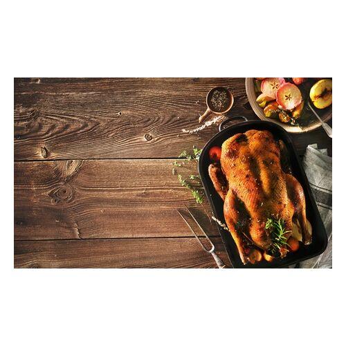 Rost & Rauch BBQ-Ente oder -Gans mit Äpfeln, Zwiebeln, Sauce und Klößen zum Liefern bei Rost & Rauch (bis zu 47% sparen*)