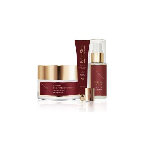 Groupon Goods Global GmbH Eclat Skin London Serum mit Retinol, Nachtcreme mit Retinol und/oder Augencreme mit Retinol und Kolagen