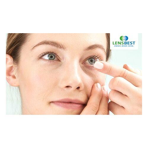 Lensbest 6 oder 12 Monate: Hydrogel-, Silikon-Hydrogel- oder Hyaluron-Kontaktlinsen inkl. Pflege ab 39 € bei Lensbest