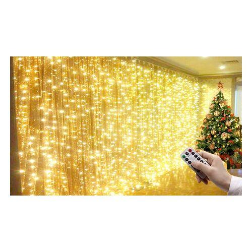 Groupon Goods Global GmbH 1x oder 2x Lichtervorhangzu Weihnachten in der Größe nach Wahl