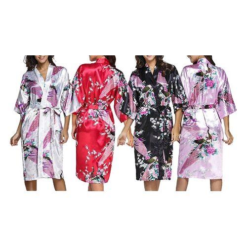 Groupon Goods Global GmbH 1x oder 2x Kimono-Schlafmantel in der Farbe nach Wahl